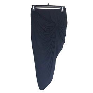 Never worn high-low skirt.